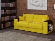 Yellow sofas