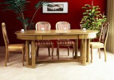 Wide Dining Tables